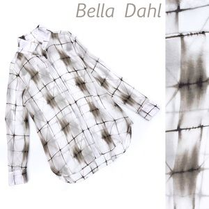 Bella Dahl Button Up Long Sleeve Lagenlook Shirt